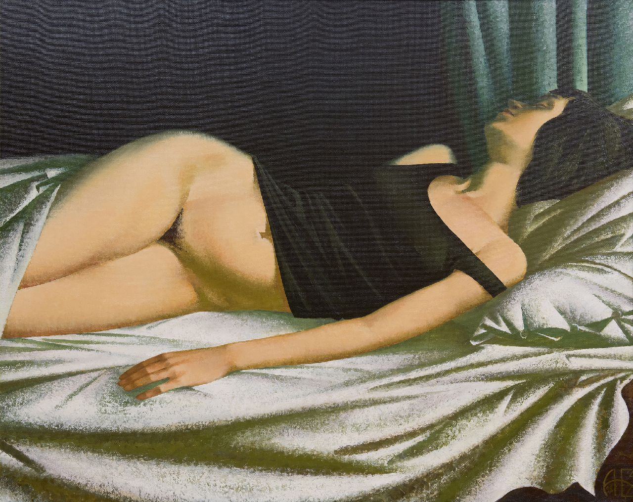 Bazanov A.N.  | Dream, oil on canvas, 79.4 x 100.0 cm, signed l.r. with monogram, and in full on the reverse and dated '98