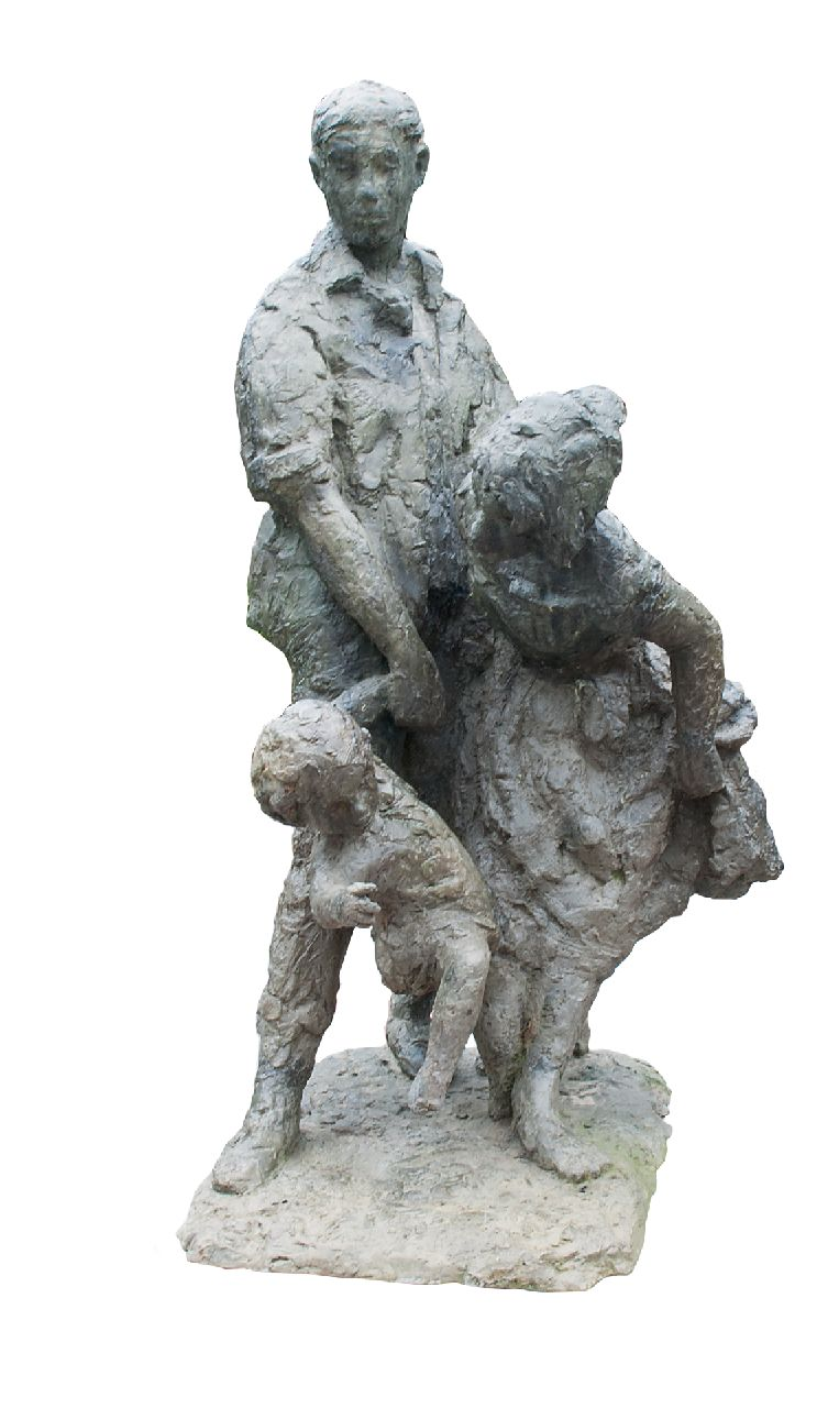Bayens H.  | Hans Bayens | Sculptures and objects offered for sale | On to the sea, bronze 133.5 x 70.0 cm, conceived and cast in 1967