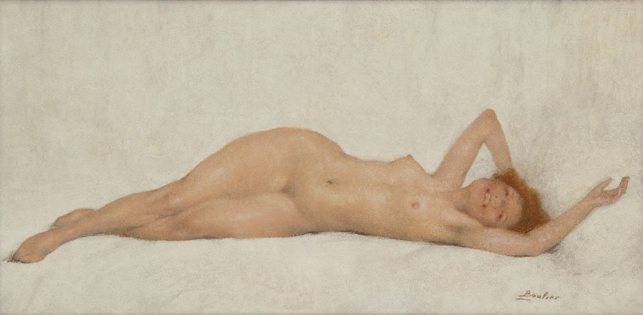 Reclining nude jacob collins
