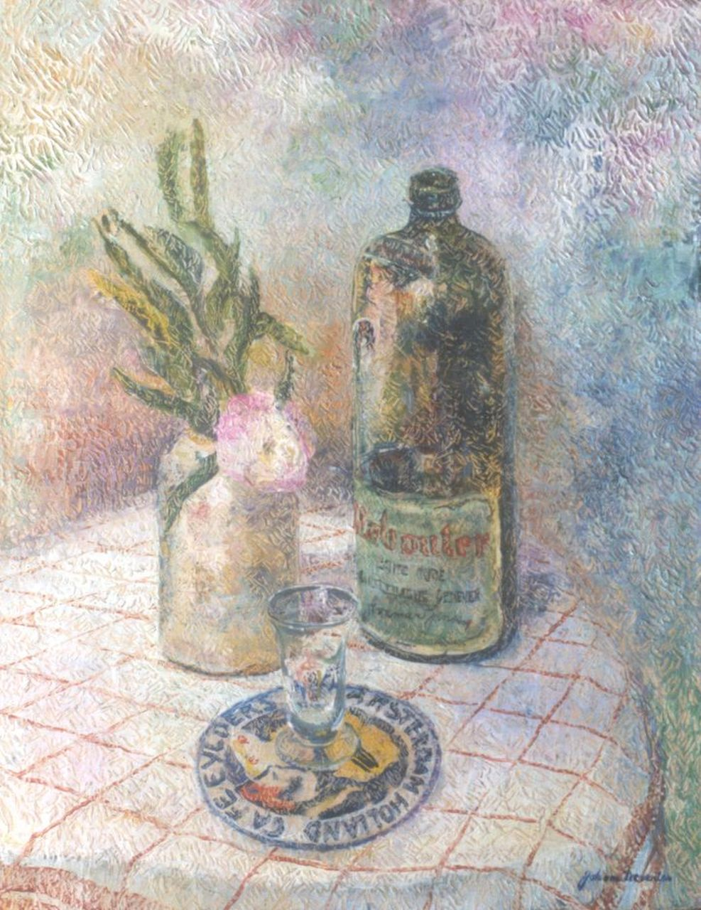 John van Deventer | A still life with a jug, oil on canvas, 60.4 x 47.0 cm, signed l.r.