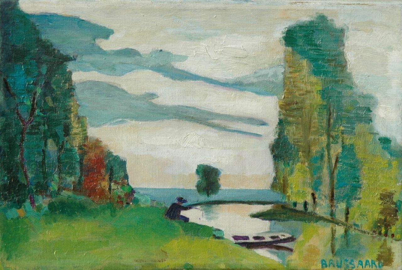 Corstiaan Brussaard | A summer landscape, oil on canvas, 20.0 x 30.0 cm, signed l.r.
