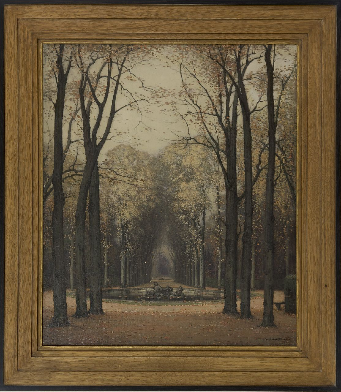 Bogaerts J.J.M.  | Johannes Jacobus Maria 'Jan' Bogaerts | Paintings offered for sale | Autumn at Versailles park, oil on canvas 65.4 x 55.8 cm, signed l.r. and dated 1913