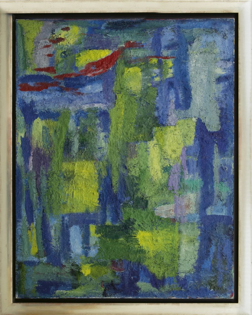 Benner G.  | Gerrit Benner, Untitled, oil on canvas 129.5 x 100.0 cm, signed on the reverse and painted ca. 1960