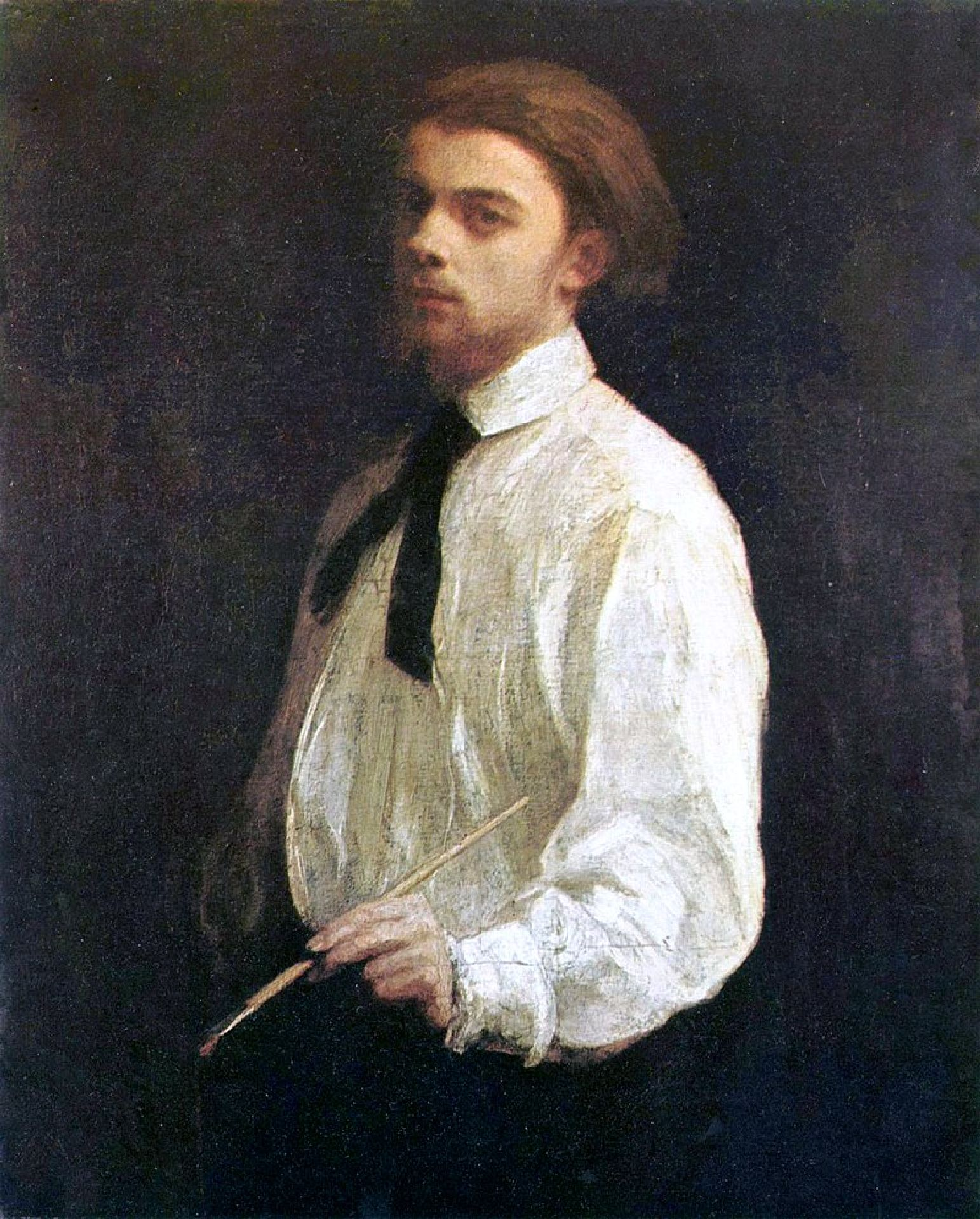 Portrait of artist and painter Ignace 'Henri' Jean Théodore Fantin-Latour