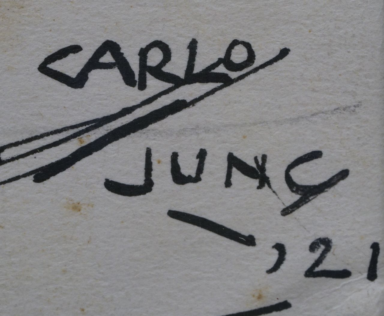 Carlo Jung signatures Beach party