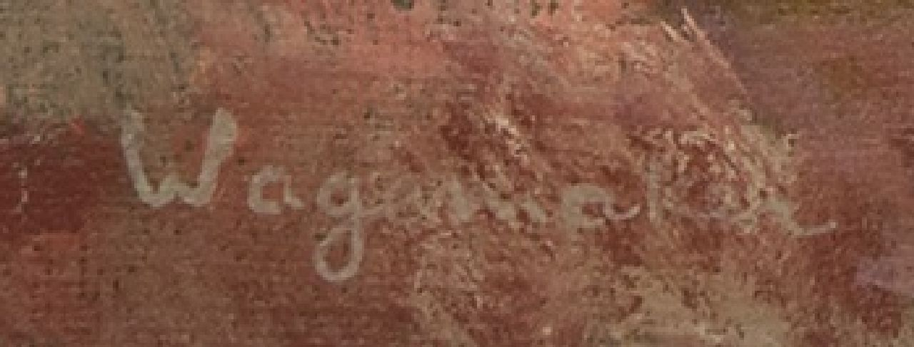 Jaap Wagemaker signatures ''t Kerkje' (church in Vijfhuizen)