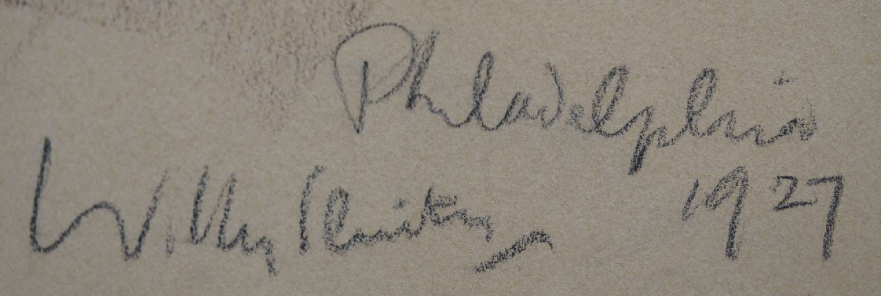 Willy Sluiter signatures Diggers, Philadelpia