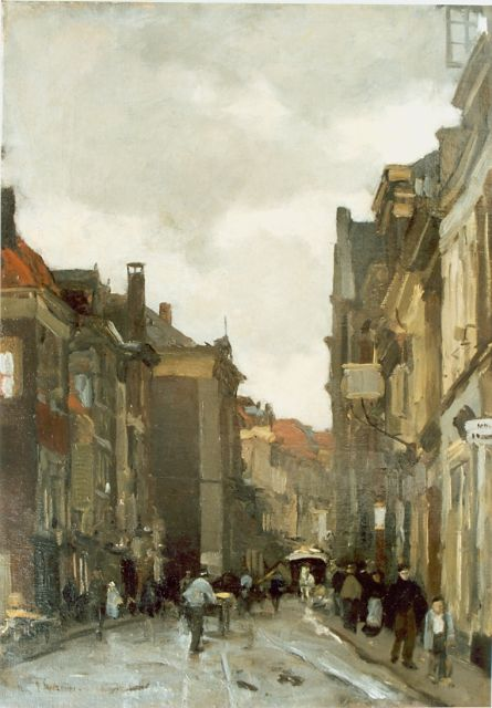 Floris Arntzenius | Townscape, oil on canvas, 50.3 x 35.5 cm, signed l.l.