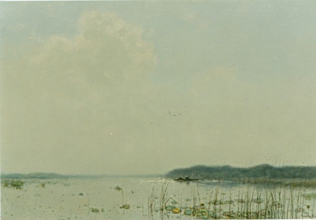 Cornelis Kuijpers | A lake, oil on canvas, 64.0 x 97.0 cm, signed l.r.