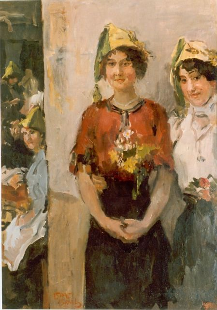 Israels I.L.  | College days, oil on canvas, signed l.l.