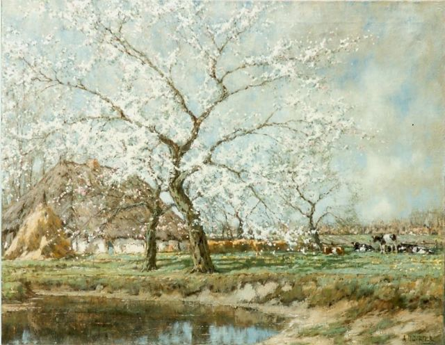 Arnold Marc Gorter | An orchard, oil on canvas, 75.4 x 96.3 cm, signed l.r.