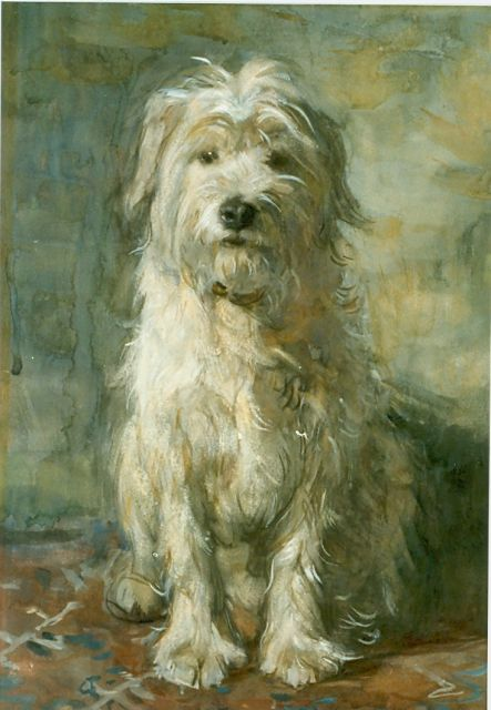 Jan Zoetelief Tromp | Loyal friend, watercolour on paper, 57.0 x 39.0 cm, signed l.l.