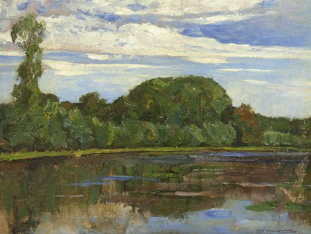 Mondriaan P.C.  | Geinrust farm with Isolated Tree at left, oil on canvas 47.7 x 63.8 cm, signed l.r. and painted ca. 1905-1906