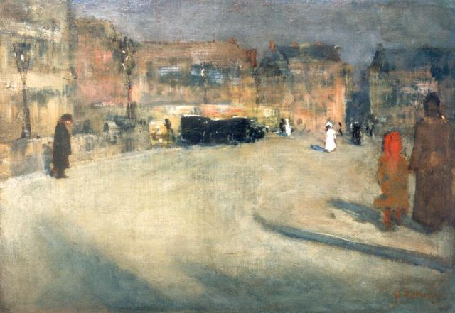 Floris Arntzenius | A townscape, France, oil on canvas, 29.0 x 41.9 cm, signed l.r. and dated '92