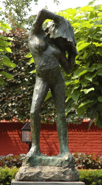 Jits Bakker | Marion, bronze, 99.4 x 73.0 cm, signed on the base