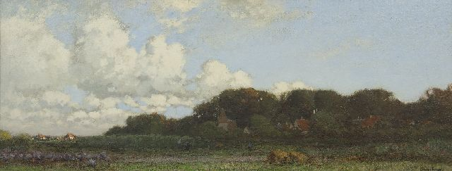 Cornelis Kuijpers | Dutch landscape near Heelsum, oil on canvas, 51.0 x 132.0 cm, signed l.r.