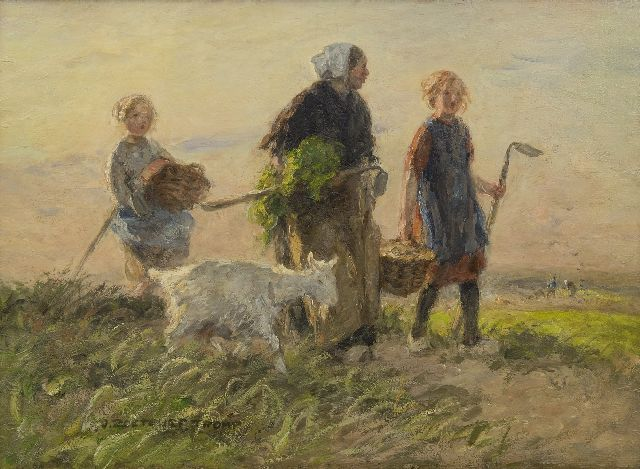 Jan Zoetelief Tromp | Homeward bound, oil on canvas, 40.7 x 56.7 cm, signed l.l.