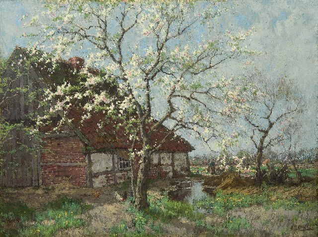 Arnold Marc Gorter | Spring, oil on canvas, 74.9 x 100.2 cm, signed l.r.