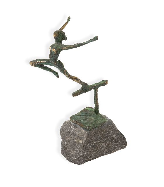 Jits Bakker | Balance, bronze, 14.2 cm, signed on the base