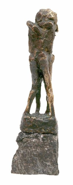 Jits Bakker | Love sculpture, bronze, 12.0 cm, signed on the base