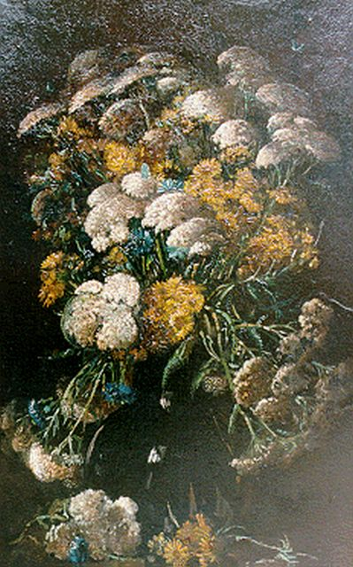 Theo Goedvriend | A bunch of wildflowers, 78.5 x 48.0 cm, signed l.r.