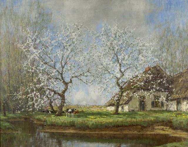 Arnold Marc Gorter | Spring morning, oil on canvas, 62.2 x 79.3 cm, signed l.r.