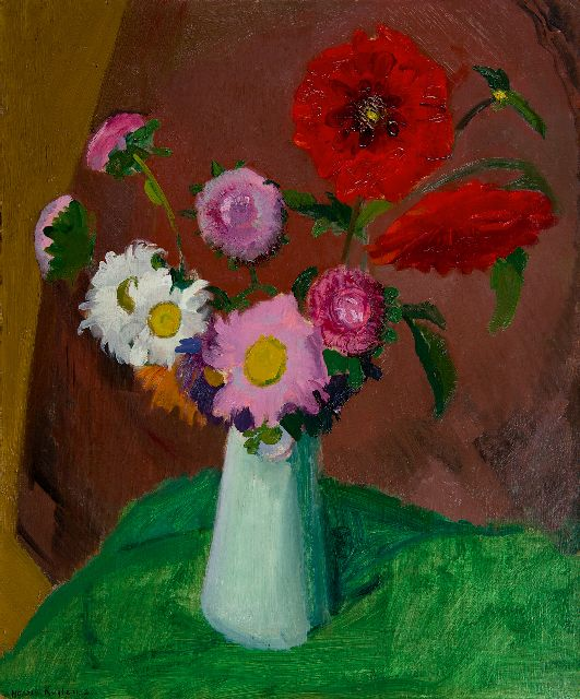Harrie Kuijten | A flower still life, oil on canvas, 60.3 x 50.2 cm, signed l.l. and dated '25
