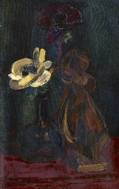 Henri Le Fauconnier | Still life, oil on canvas, 35.0 x 22.5 cm, signed l.l. with monogram and in full on the reverse