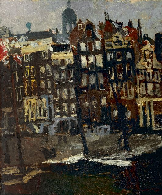 George Hendrik Breitner | The Singel, Amsterdam, oil on canvas, 80.5 x 70.0 cm, signed l.r. and painted ca. 1895-1901