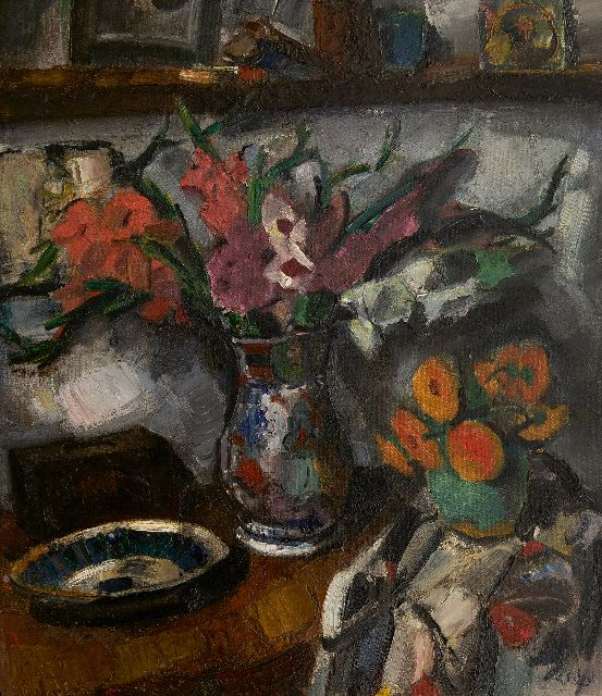 Arnout Colnot | Still life, oil on canvas, 82.3 x 73.2 cm, signed l.r. and on the stretcher