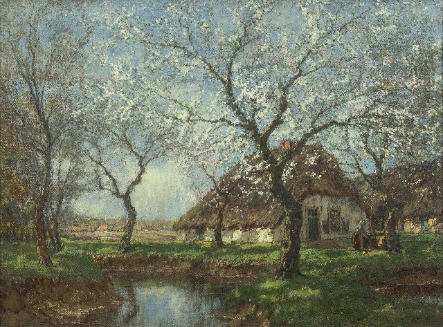 Arnold Marc Gorter | Spring blossoms, oil on canvas, 57.2 x 76.2 cm, signed l.r.