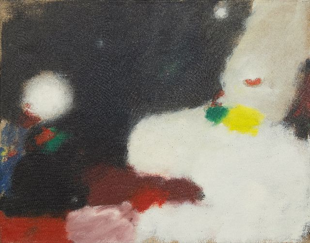 Eugène Brands | Mysterious Universe, oil on canvas, 55.0 x 70.5 cm, signed l.r. and on the reverse and dated '71 on the reverse