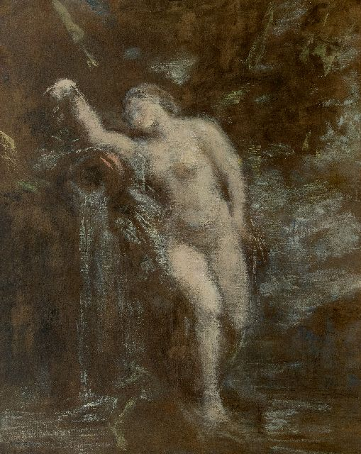 Henri Fantin-Latour | La Source, oil on canvas, 81.5 x 65.5 cm, signed l.r.