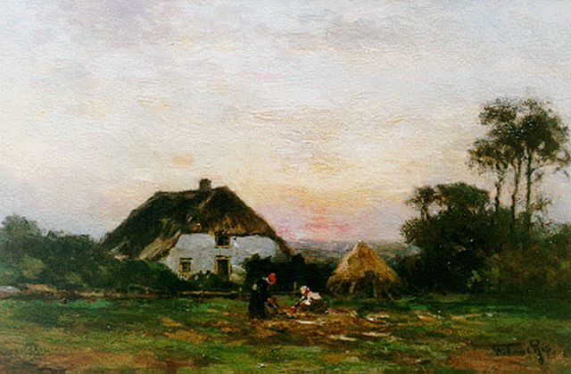 Willem Rip | Autumnal landscape, oil on canvas, 31.0 x 48.5 cm, signed l.r.
