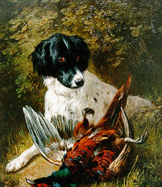 Henriette Ronner-Knip | A good catch, oil on panel, 19.5 x 15.8 cm, signed l.r.