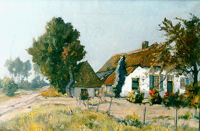 Münninghoff X.A.F.L.  | 'Noord-Brabant', oil on canvas 40.0 x 60.2 cm, signed l.l.