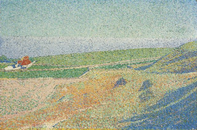 Ferdinand Hart Nibbrig | 'Vlieland', oil on canvas, 40.0 x 60.0 cm, signed l.r. and dated 1902