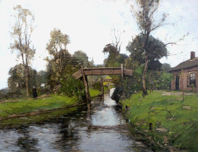 Paul Bodifée | Giethoorn, oil on canvas, 50.3 x 65.3 cm, signed l.r.