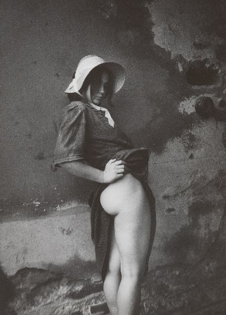 Jan Saudek | Olga Again, photograph, 29.9 x 23.6 cm, signed l.r. and exectuted ca. 1987