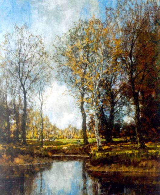 Arnold Marc Gorter | The Vordense beek (counterpart of inventory number 6002), oil on canvas, 56.5 x 46.5 cm, signed l.r.