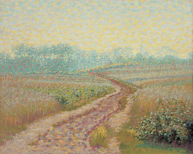 Co Breman | The 'Eng', Blaricum in summer, oil on canvas, 46.0 x 56.0 cm, signed l.r. and dated 1912