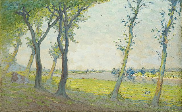 Co Breman | A Salland summer morning, oil on canvas, 44.5 x 70.5 cm, signed l.l. and dated 1935