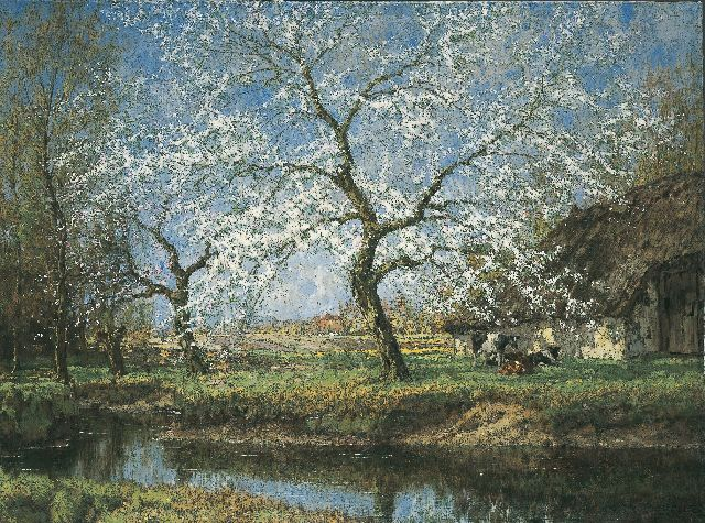 Arnold Marc Gorter | Spring, oil on canvas, 115.0 x 154.7 cm, signed l.r.