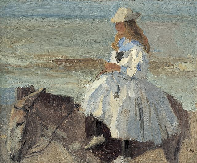 Israels I.L.  | A donkey ride, oil on board, 46.1 x 56.1 cm, signed l.r.