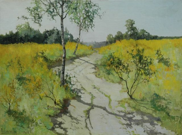 Paul van der Ven | A country road in summer, oil on canvas, 60.0 x 80.2 cm, signed l.l.