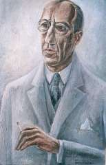 Lubbers A. - Portrait of Piet Mondriaan, oil on canvas 81.3 x 54.7 cm, signed l.r. and dated 1931