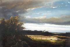 Meiners C.H. - Gelders landschap, oil on panel 34.7 x 50.2 cm, signed l.l and dated 1872