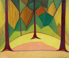 SLuijter J.J.H. - Forest, oil on canvas 79.1 x 95.5 cm, signed l.r. and painted circa 1914