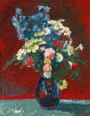 Wiegers J. - A summer bouquet, oil on canvas 73.7 x 60.3 cm, signed l.r. and dated '41