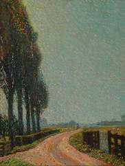 Gestel L. - A summer day near Montfoort, oil on canvas 70.6 x 55.5 cm, signed l.r. and dated '09